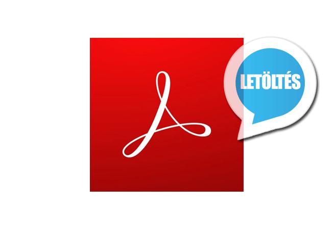 Adobe Acrobat Reader DC 2019 (magyar) letöltés
