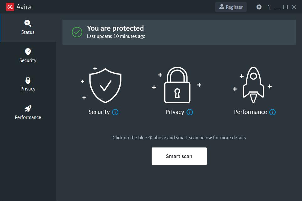 Avira Free antivirus letöltése ingyen