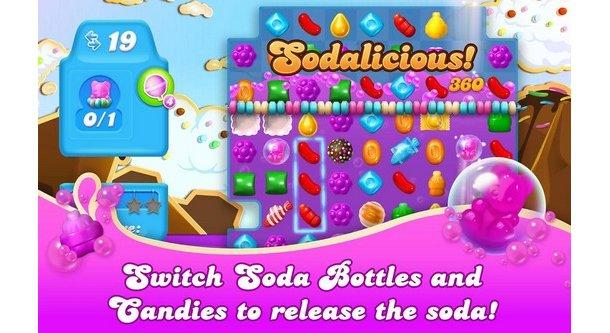 Candy Crush Soda Saga játék letöltés