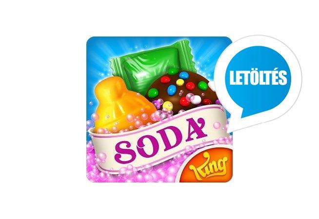 Candy Crush Soda Saga Android játék letöltés Apk