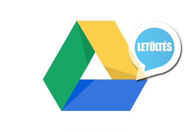 Google Drive 2.19.392 (magyar) Letöltés