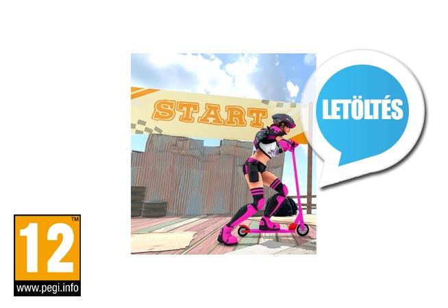 Impossible Scooty Stunt Mega Ramp Roller Racing Game 1.51 Android játék