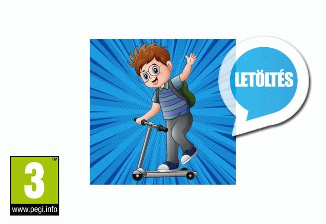 Lahori Nobita Scooter Rider 9.1 Android játék